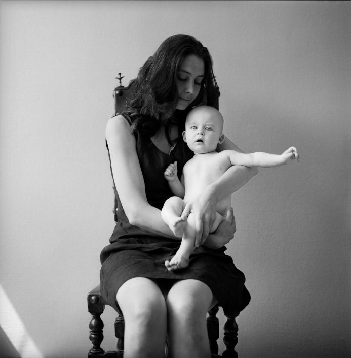 Portretfotograaf Amsterdam, moeder en kind
